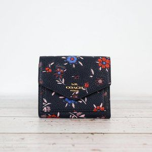 NWT Coach Small Wallet with Wildflower Print